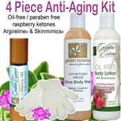 4 Piece Anti-Aging Body Care Kit