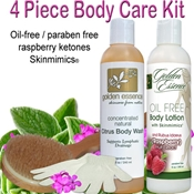 4 Piece Body Care Kit