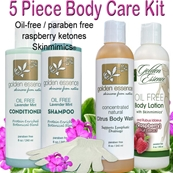 5 Piece Body Care Kit / $32.55 OFF