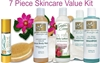 7 Piece - Premium Oil-Free Age-Defying Skin Care Kit / SAVE 20%