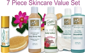 7 Piece Skincare Value Set / 20% OFF