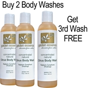 Citrus Body Wash  - 2 Pack/Get 3rd Wash FREE / $17 OFF hcg oil free body wash, hcg diet skin care