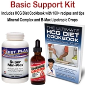 HCG Diet Basic Support Kit 25% OFF