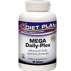 Mega Daily-Plex SAVE 15% on 2 Bottles / Only $34 Bottle