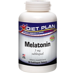 Melatonin - 3 mg Sublingual Save $10 on every 2 Bottles
