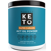 Perfect Keto MCT OIL Powder - Salted Caramel